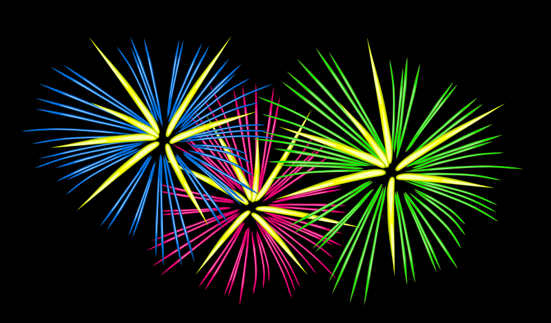 Fireworks clip art  2