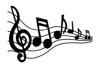 Free images of music notes clipart