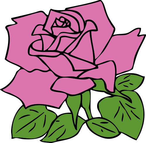 Free rose clipart public domain flower clip art images and graphics 6