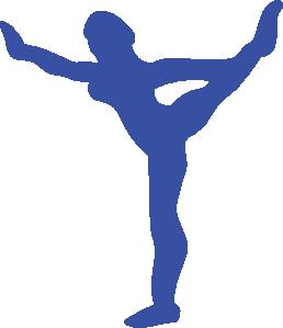 Gymnastic gymnast clip art at vector clip art online royalty