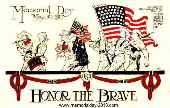 Memorial day 3 clip art pictures images borders
