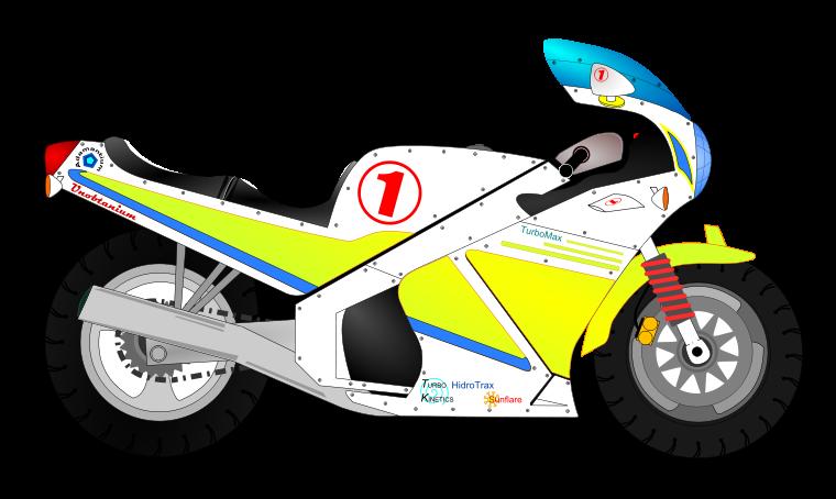 Motorcycle clip art  2