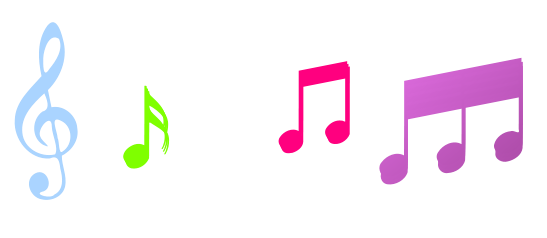 Music notes musical notes clip art