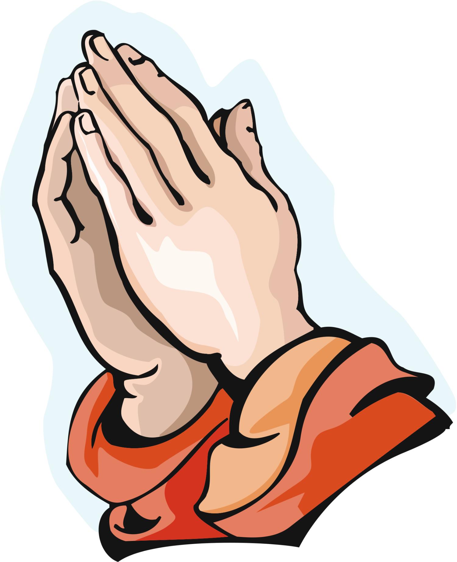 Praying hand child prayer hands clip art