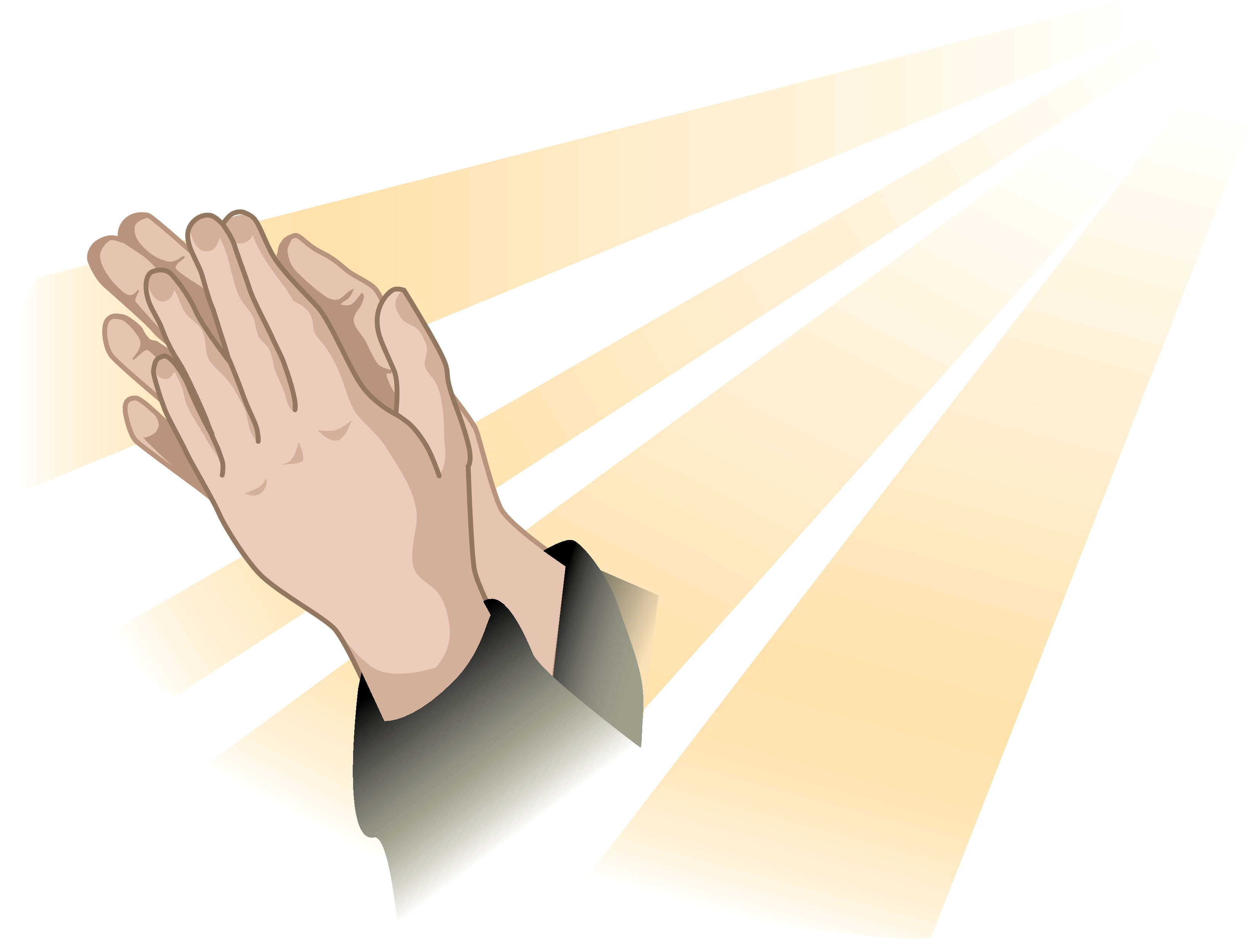Praying hand open hands clip art top pictures gallery online