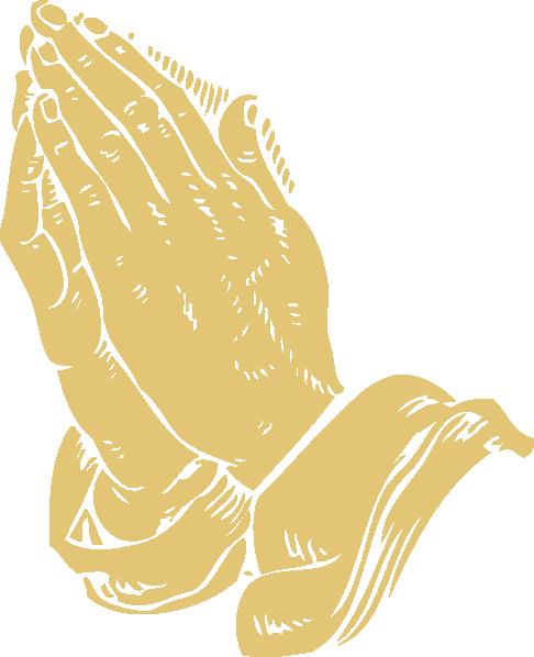 Praying hands clip art at vector clip art online