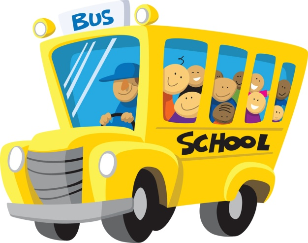 School bus arrival