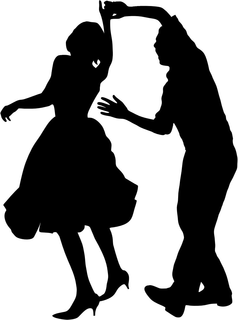 Swing dance clip art clipart