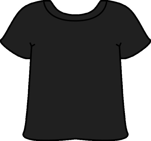 T shirt black tshirt clip art black tshirt image