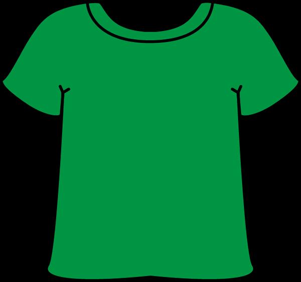 T shirt green tshirt clip art green tshirt image