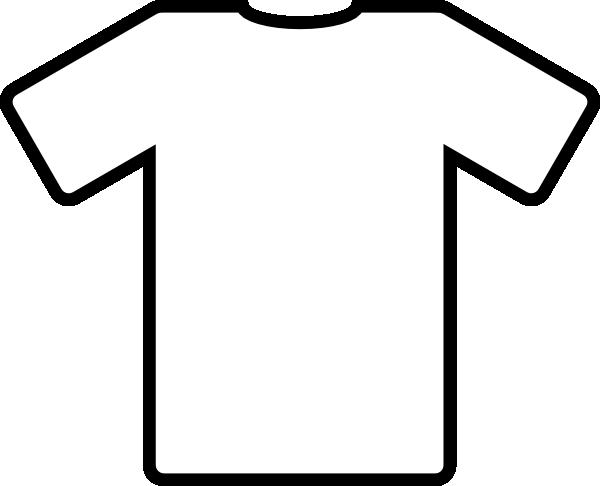 T shirt white shirt clip art at vector clip art online