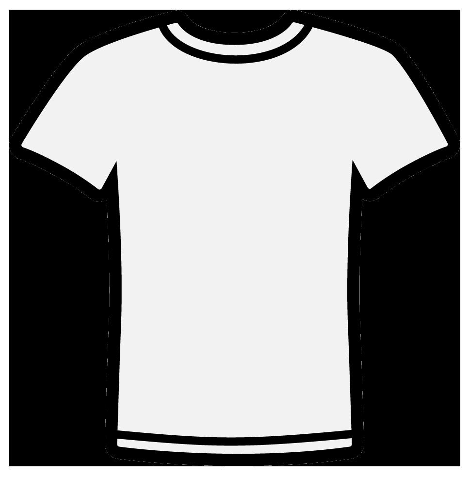 T shirt white shirt clipart clipart