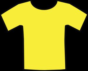 T shirt yellow shirt clip art at vector clip art online