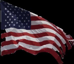 American flag clip art at vector clip art online