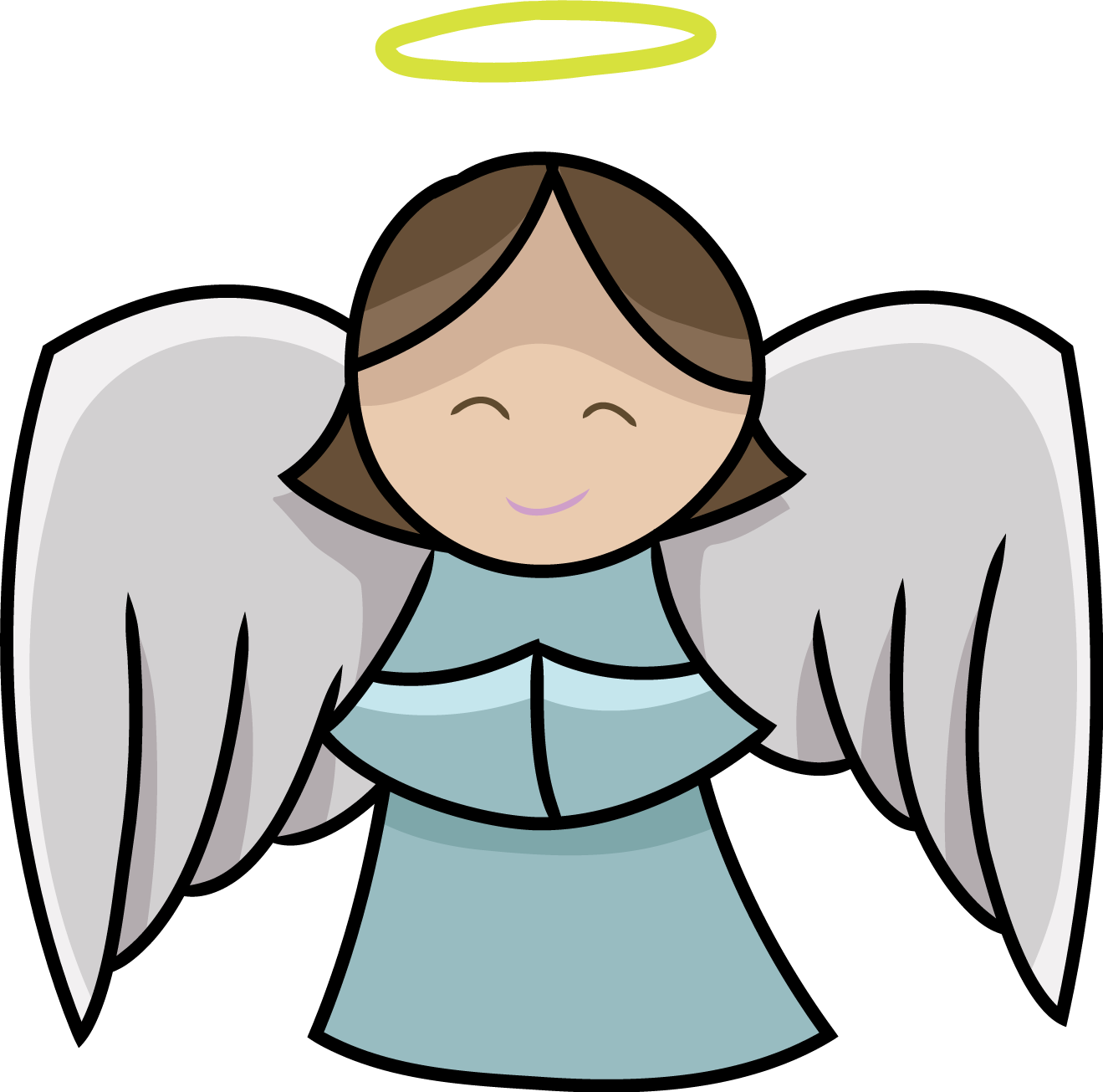 angel clip clipart easy icons cliparts personal project