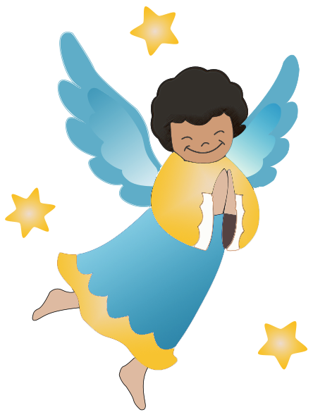 Angel clipart free graphics of cherubs and angels 2