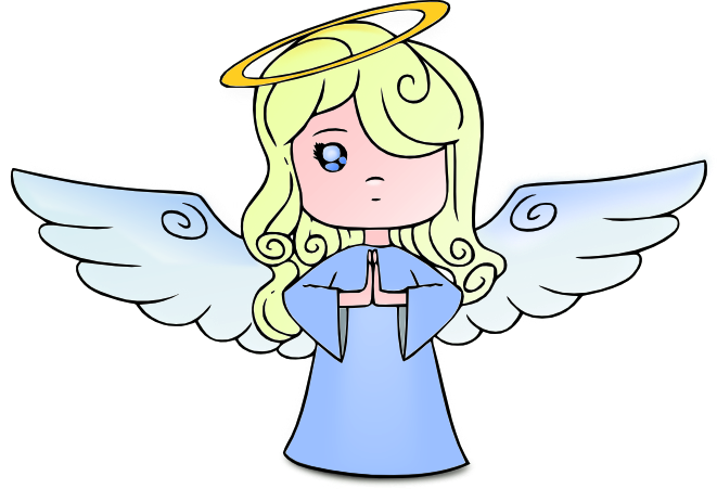 Angel clipart free graphics of cherubs and angels image 4342 for Angel clipart