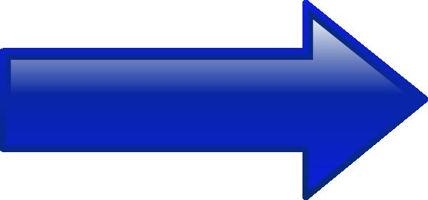 Arrow right blue clip art at vector clip art online