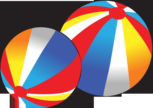 Beach ball clip art 2
