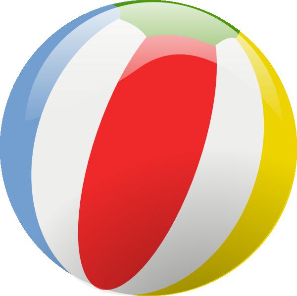 Beach ball clip art at vector clip art online royalty 2