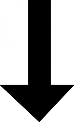Black arrow clip art free vector in open office drawing svg svg