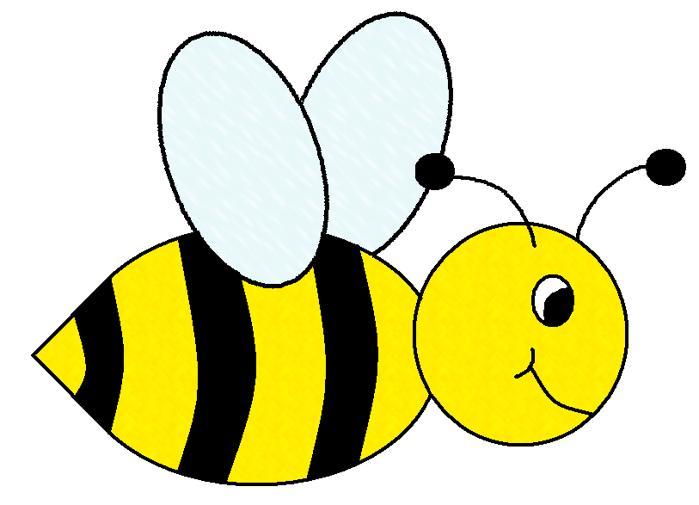 Bumble bee clip art animals clipart