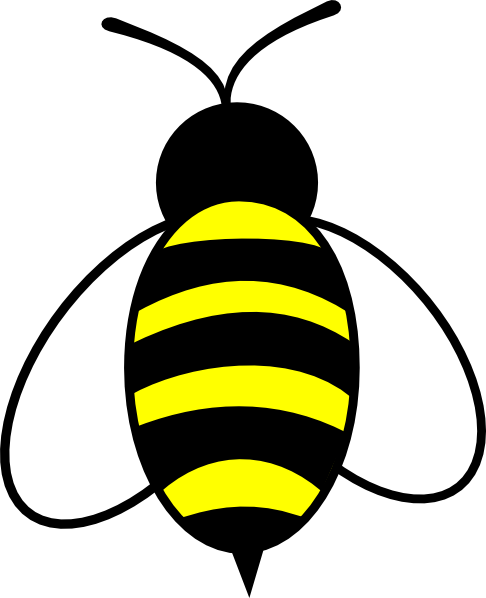 Bumble bee clip art free 2