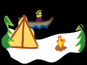 Camping clip art clipart