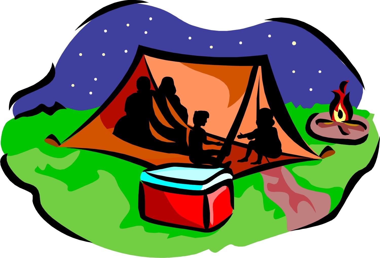 Camping kids camp clip art clipart