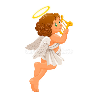Christmas angel clip art free cherub guardian angel for Angel clipart