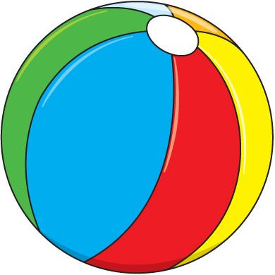 Clip art beach ball