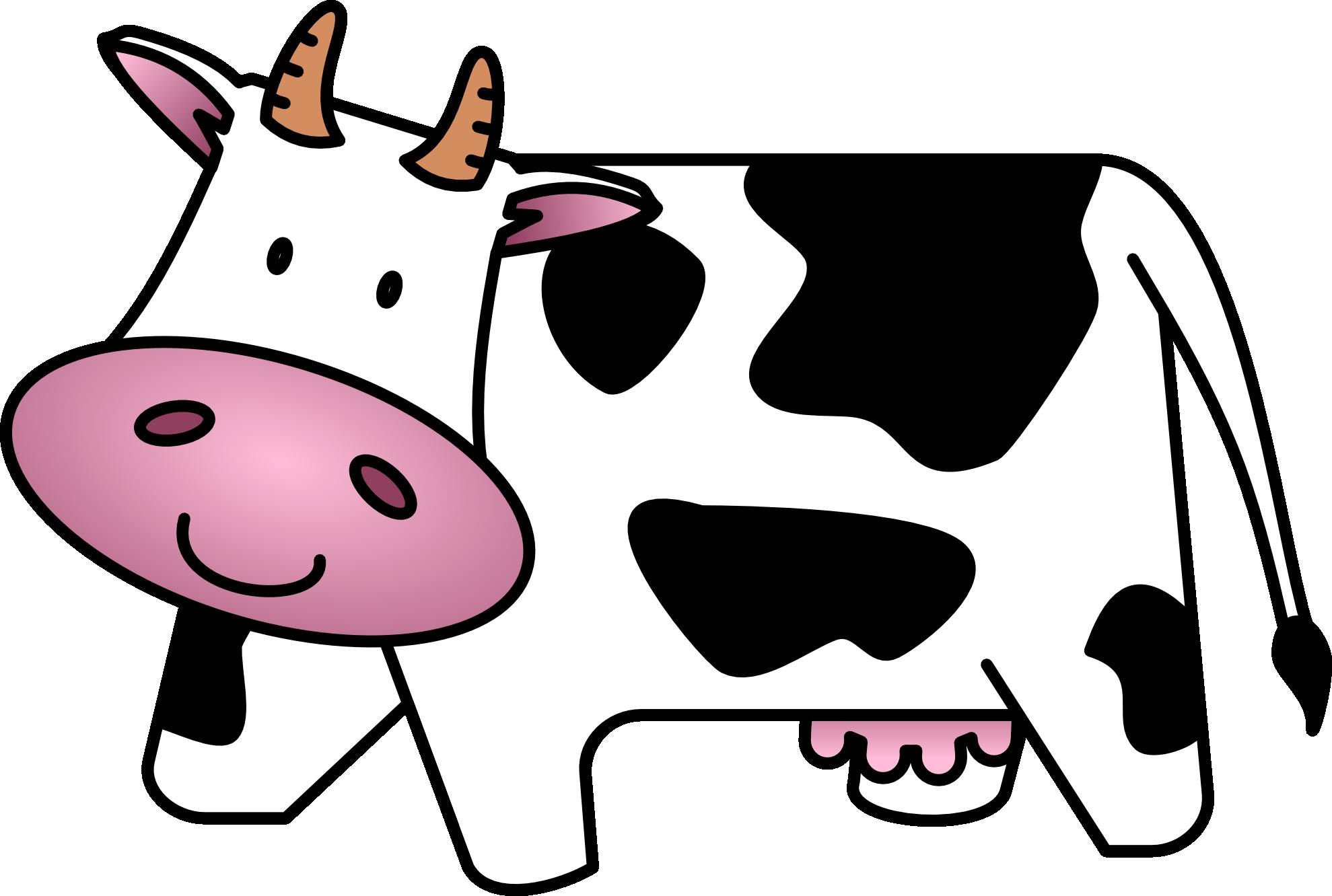 Cow clip art  2