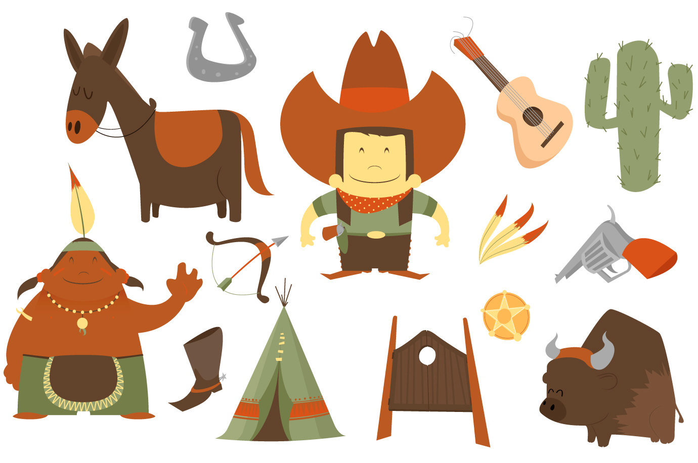 Cowboy clipart famous and free vector logos