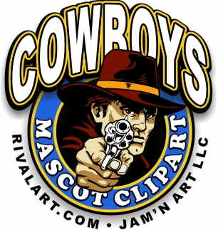 Cowboy clipart on