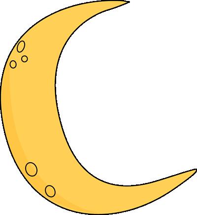 Crescent moon clip art crescent moon image