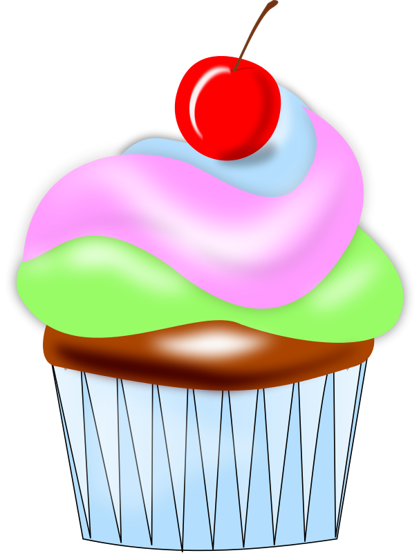 Cupcake clip art  3