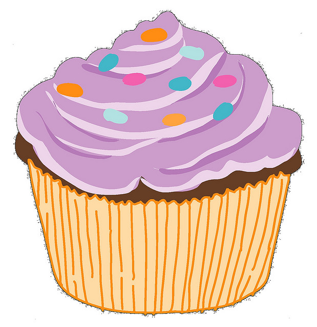 Cupcake clipart graphics clipart