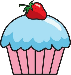 Cupcake outline clip art clipart