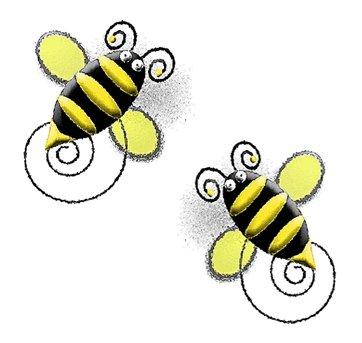Cute bumble bee clip art clipart