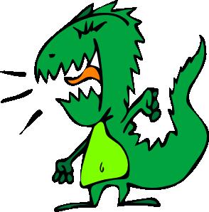 Dinosaur clip art free vector