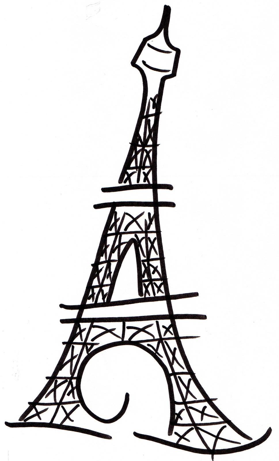 Eiffel tower clip art