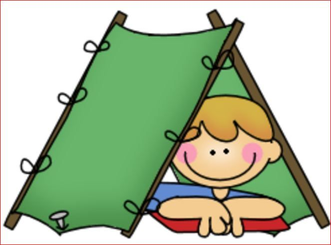 Free camping images for kids boy scout camping clipart