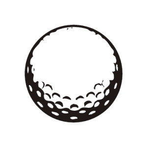 Free clipart images golf ball clipart