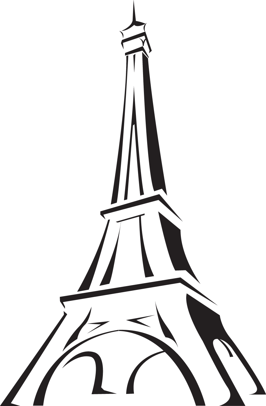 Free eiffel tower clip art clipart