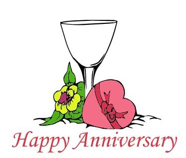 Free happy anniversary free clip art clipart