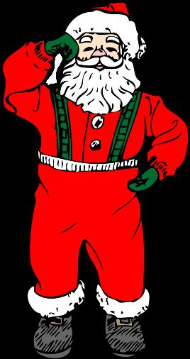 Free santa claus clipart public domain christmas clip art 3