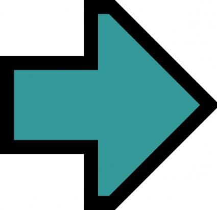 Funneled arrow clipart