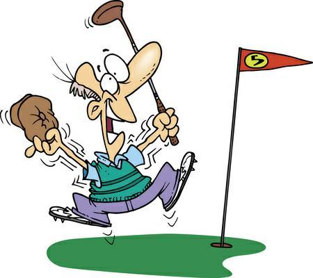 Golf clip art funny