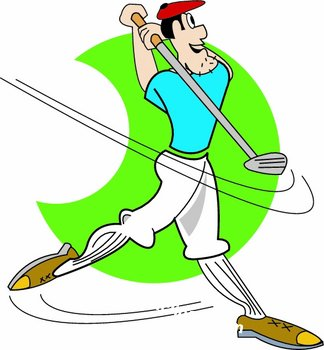 Golf clip art images free clipart
