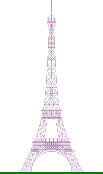 La tour eiffel eiffel tower clip art at vector clip